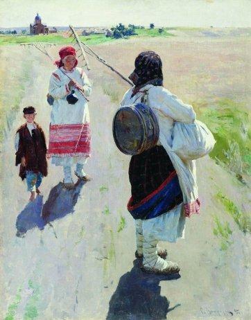 Yendo a trabajar, 1895